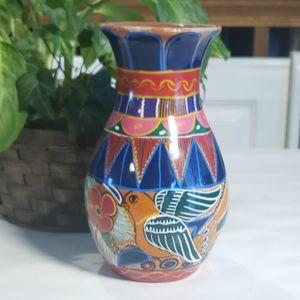 Vintage Folk Art Tonala Vase